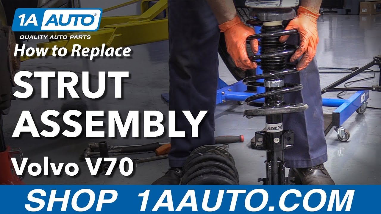 Volvo 850 C70 S60 S80 V70 Front Strut Mount Bushings Plates Premium Quality
