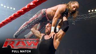 FULL MATCH - John Cena & Shawn Michaels vs. Undertaker & Batista: Raw, March 26, 2007