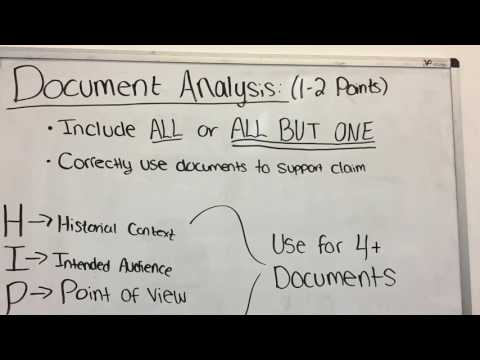 How To Write Dbq (extra Credit)