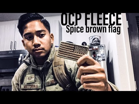 OCP COYOTE FLEECE REVIEW/COMPARISON & CORRECT SPICE BROWN US FLAG PATCH