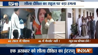 10 News in 10 Minutes   24th February, 2017 - India TV