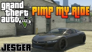 GTA V - Pimp My Ride #60 | Dinka Jester (Acura NSX) Car Customization! *DLC Car*