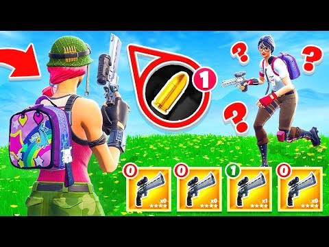 SCOPED REVOLVER Shoot Out CREATIVE Game Mode in Fortnite Battle Royale