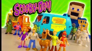 Scooby Doo - Case of the Haunted Imaginext Toy Unboxing! Stop Motion Adventure!