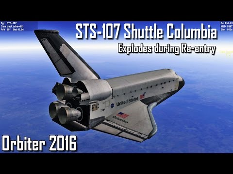 space shuttle columbia animation - photo #8