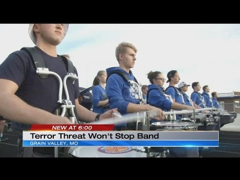 Grain Valley High School band prepares for Macy's Thanksgiving Day Parade