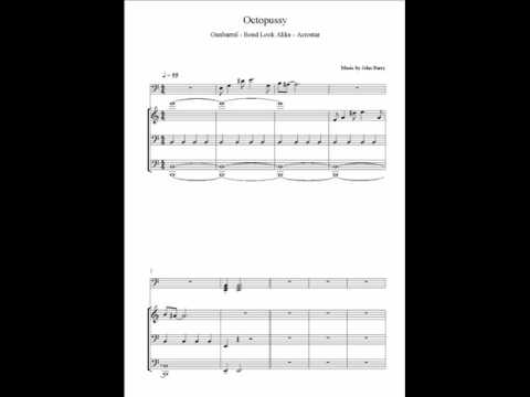Octopussy Score Gunbarrel - A Load Of Bull