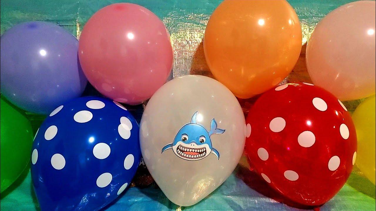 FUN SHARK BALLOON POPS!!!