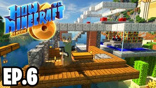 I MADE SOMETHING OFF CAMERA xD ! |H6M| Ep.6 How To Minecraft Season 6 Survival Series (SMP)