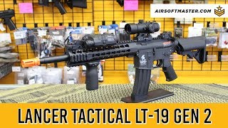 Lancer Tactical LT-19 Gen 2 Airsoft Gun Review