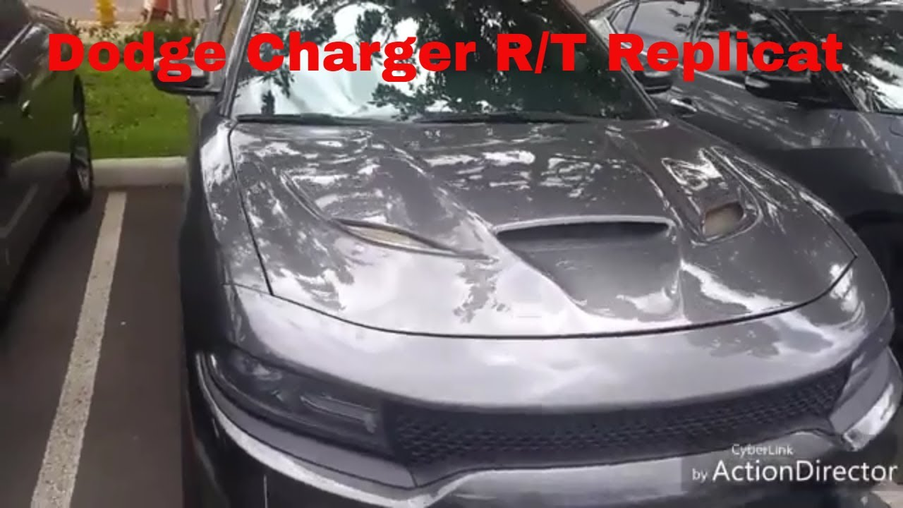 Charger R T Hellcat Body Kit Replicat Youtube