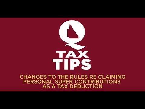 QTAX Tax Tips - YouTube
