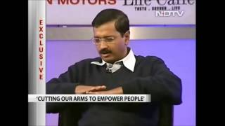 Arvind Kejriwal on Swaraj (self rule) and Khaap.