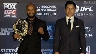 UFC on FOX 9: Pre-Fight Presser Highlights