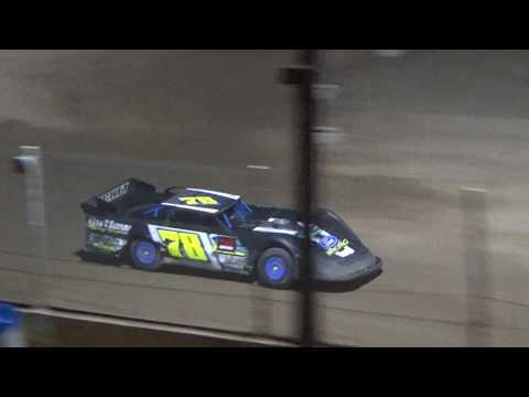 Late Model Heat #1 at Crystal Motor Speedway, Michigan on 09-15-2018!
