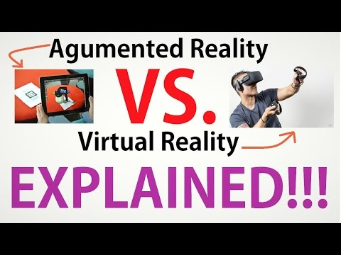 Virtual Reality VS. Augmented Reality   Virtual and Augmented reality Explained  