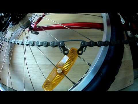 Install a Shimano quick link chain CN-HG40 without any tools