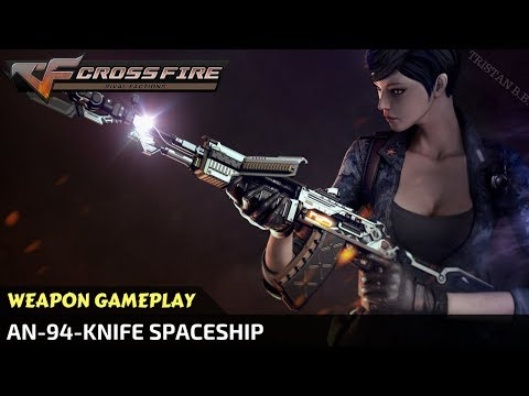 CrossFire - AN-94-Knife Spaceship [VVIP Weapon]