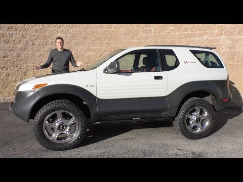The Isuzu VehiCROSS Is the Weirdest SUV You Forgot About