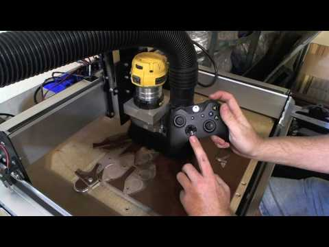 Using an XBOX One Controller to Jog a Shapeoko 3