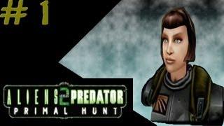 Aliens versus Predator 2: Primal Hunt - Corporate Campaign #1 - Mission 1: Zeta Site 1/2