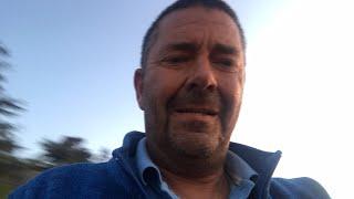 Live cellphone video, sunset