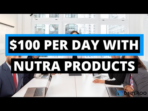 $100 a Day Online With Nutra Products (Affiliate Marketing)