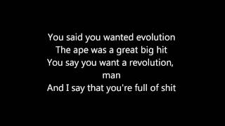 Marilyn Manson Disposable Teens w/ lyrics