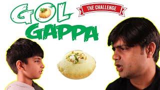 Golgappa Challenge   Gol Gappa Challenge Fun   FunWithAnaghAadriti