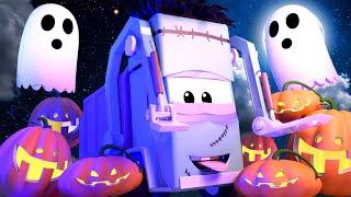 Tomovo Umývání Auta ve Městě Aut 💧  Tomova automyčka zasahuje na Halloween - Animák pro děti