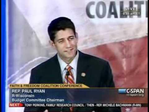 Paul Ryan at Faith & Freedom Coalition