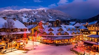 Whistler Village Winter Wonderland