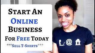 Make Money Designing & Selling Products Online (Free To Start)