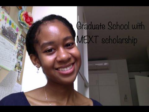 Graduate School with MEXT scholarship