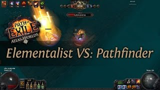 Path Of Exile 2.4: Grand Spectrum EA Elementalist VS. Pathfinder - PVP Duel
