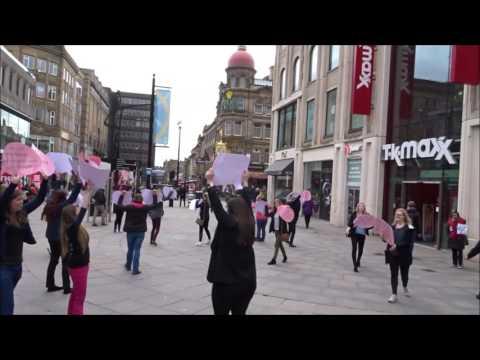 Giving Voice: Newcastle and Leeds Beckett Universities