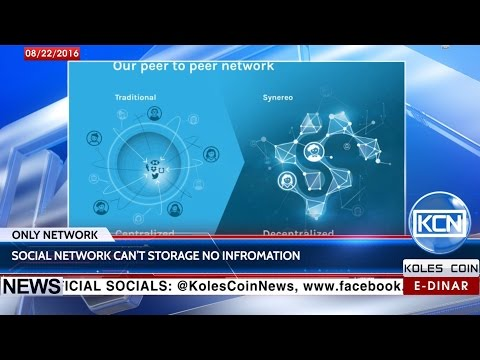 KCN Digest: Israeli blockchain startup Synereo to release decentralized social network