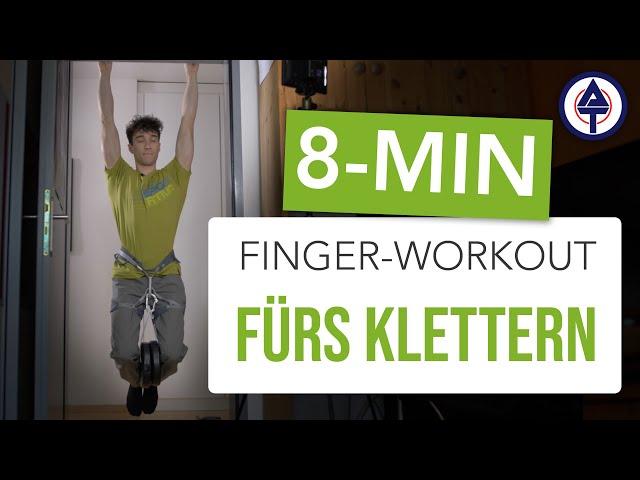 Mehr Fingerkraft dank Home Workout! Tipps von Marco Müller  / Ep. 2