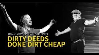 Brian Johnson e Greg Billings - Dirty Deeds Done Dirt Cheap (AC/DC)