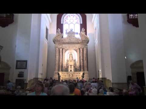 Cartagena, Colombia - Inside San Pedro Claver Church #2 - Celebrity Equinox Cruise - Jan 2013