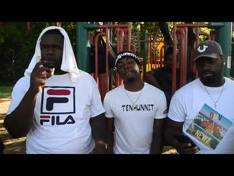FROM 1001 GLASSMANOR  UPTOP  W TEN HUNNIT  TALKS ABOUT MUSIC, SHOWS THE HOOD & MORE