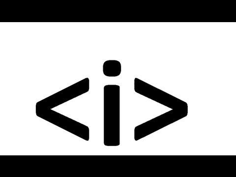 Learn Html Code Italic Tag Youtube