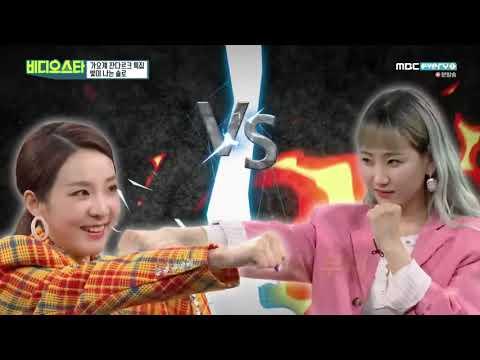 2NE1 Vs Wonder Girls In Video Star