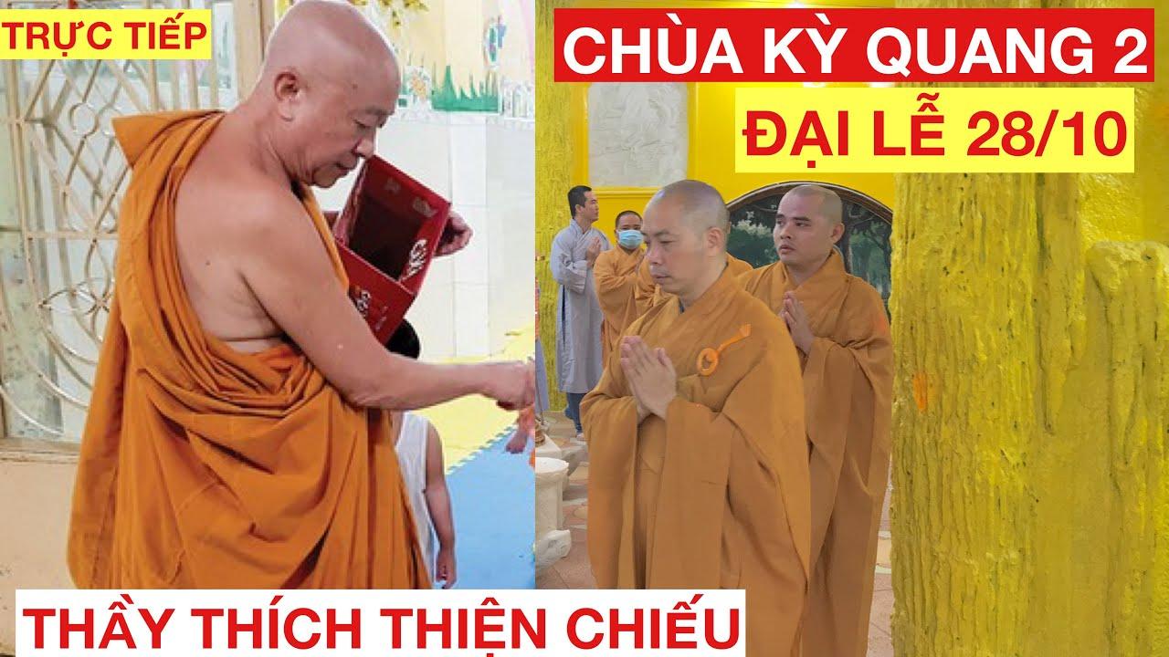 Đại Lễ Chùa Kỳ Quang 2 Thầy THÍCH THIỆN CHIẾU và Đoàn Phật Tử Tới Tham Dự