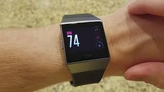 Fitbit Ionic Tracking Basics