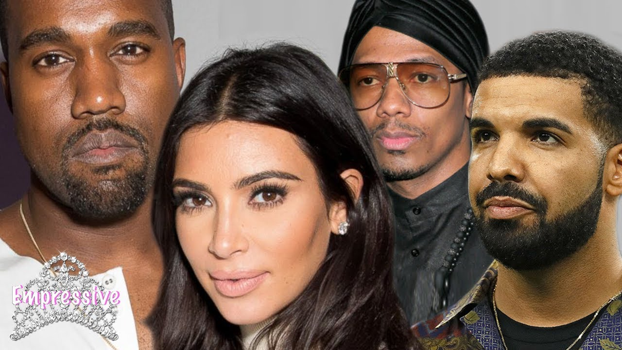 Image result for Kanye West Slams Drake for suggesting he Bedded Kim Kardashian