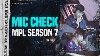 Mic Check vs Alter Ego | MPL ID S7 Week 4
