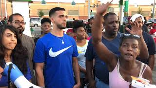 Gas Mart protest in St. Louis
