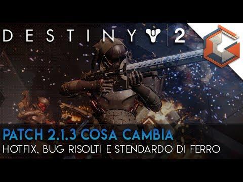 Destiny 2 News | Patch 2.1.3 | Hotfix, Bug risolti e il ritorno dello Stendardo di Ferro thumbnail
