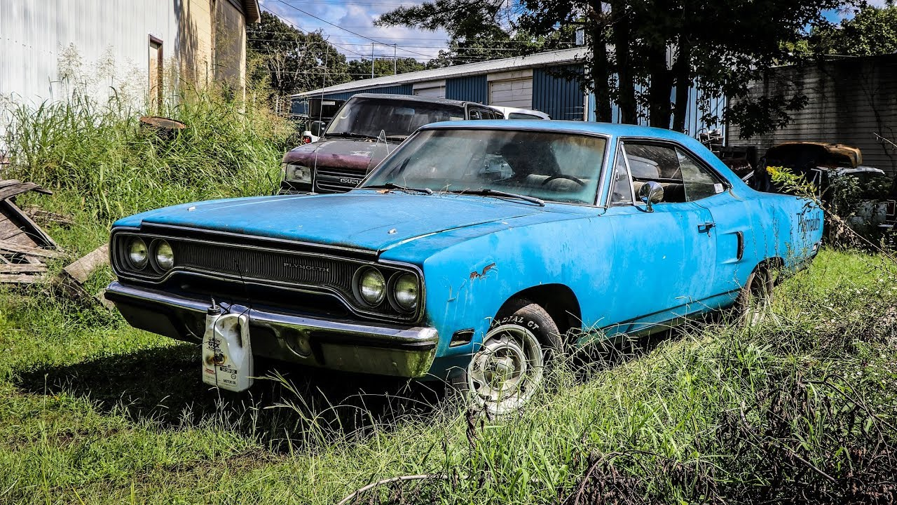 JUNKYARD Plymouth Runs and Drives After 10 Years!